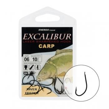 Carlige Excalibur River Feeder Black