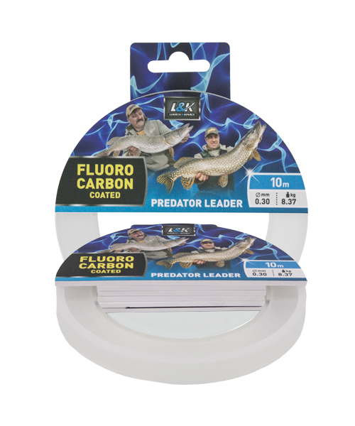 FIR L&K FLUOROCARBON COATED PREDATOR LEADER